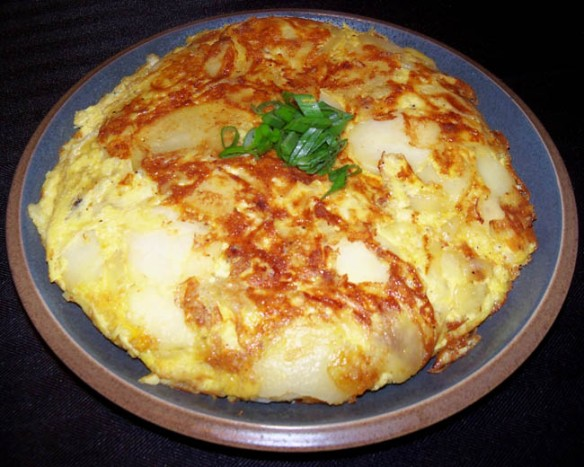 Spanish tortilla, that classic Eid dish.